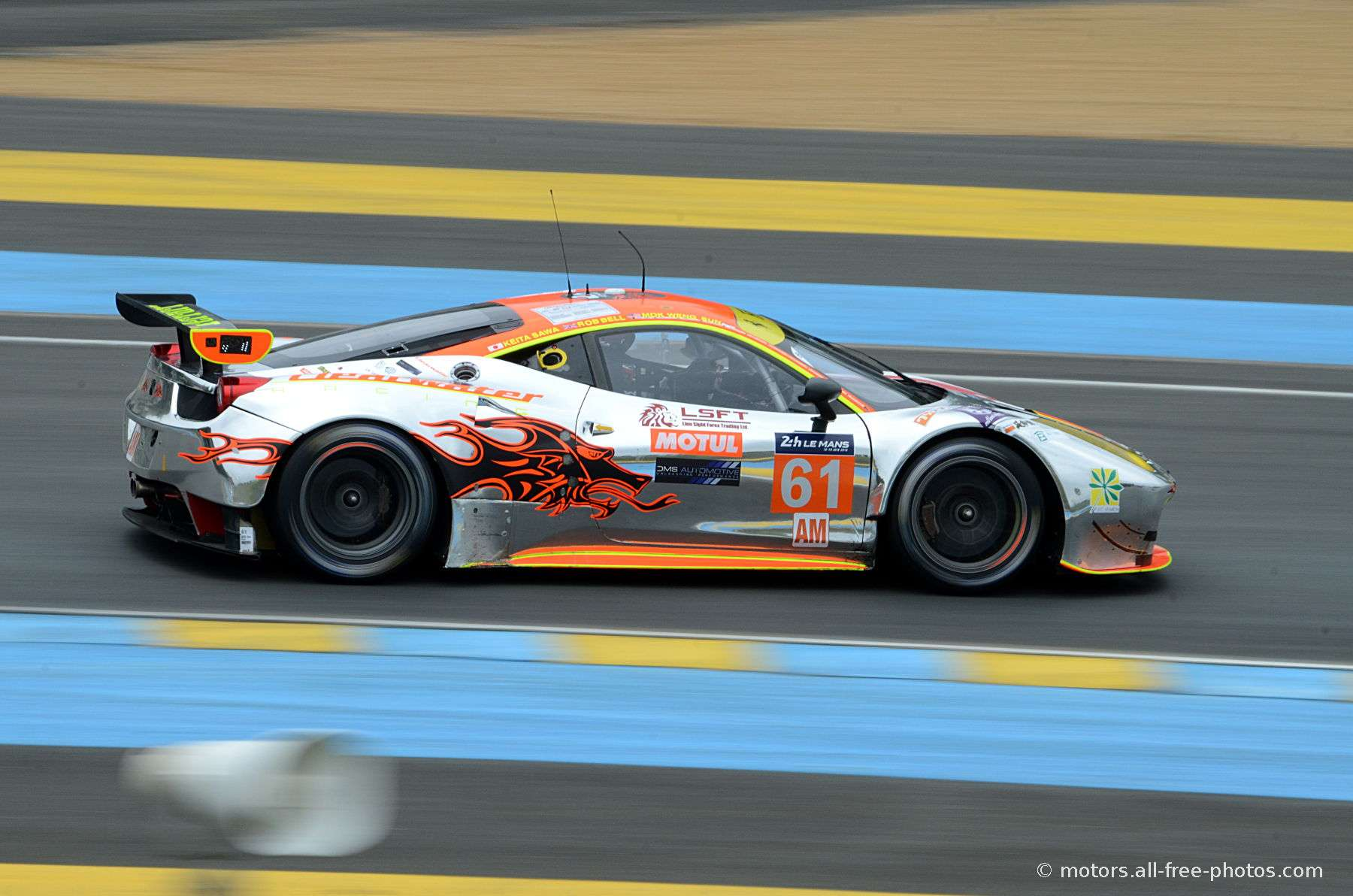 Ferrari 458 Italia - Team Clearwater Racing