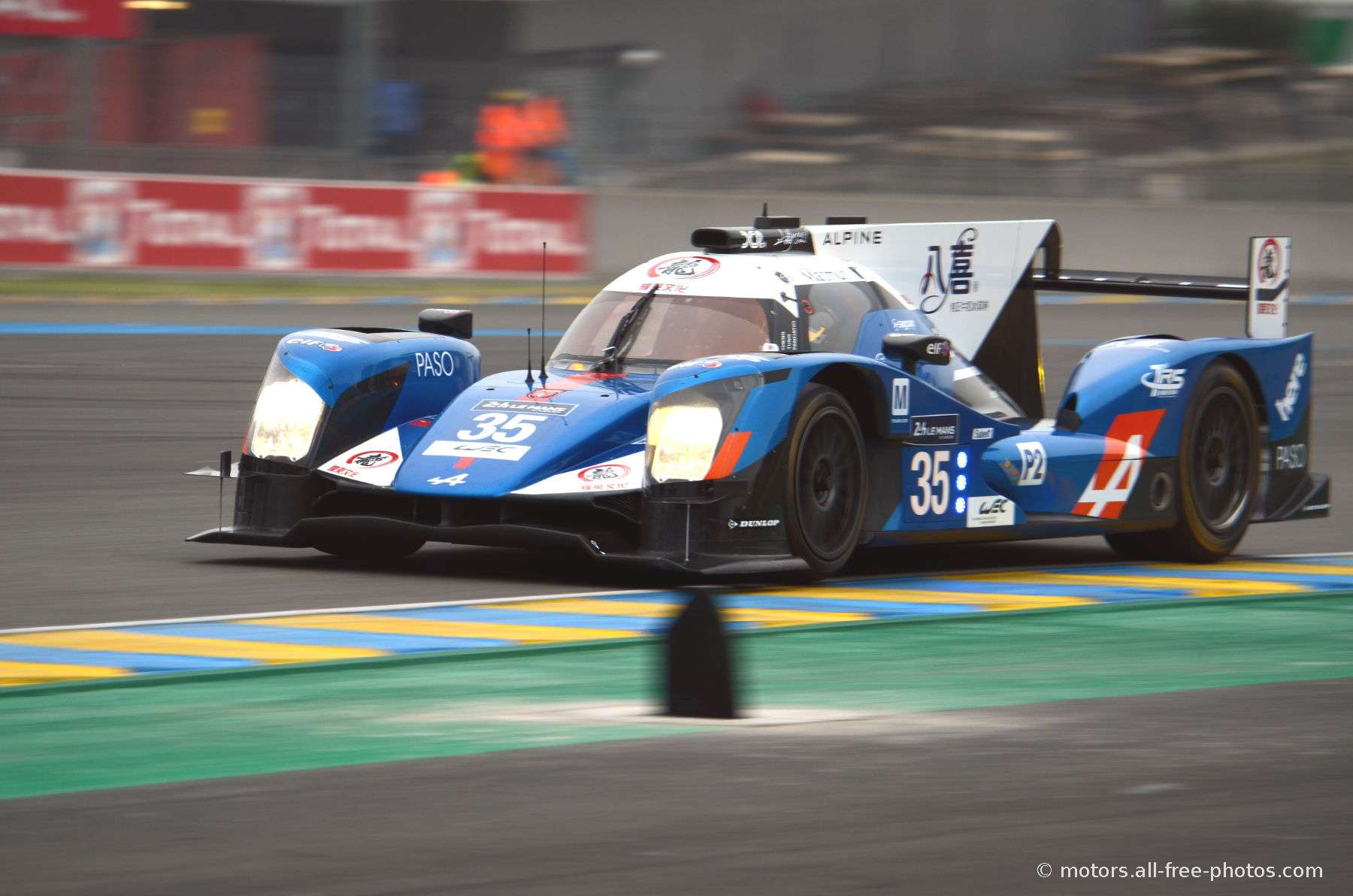 Alpine A460-Nissan - Team Baxi DC Racing Alpine