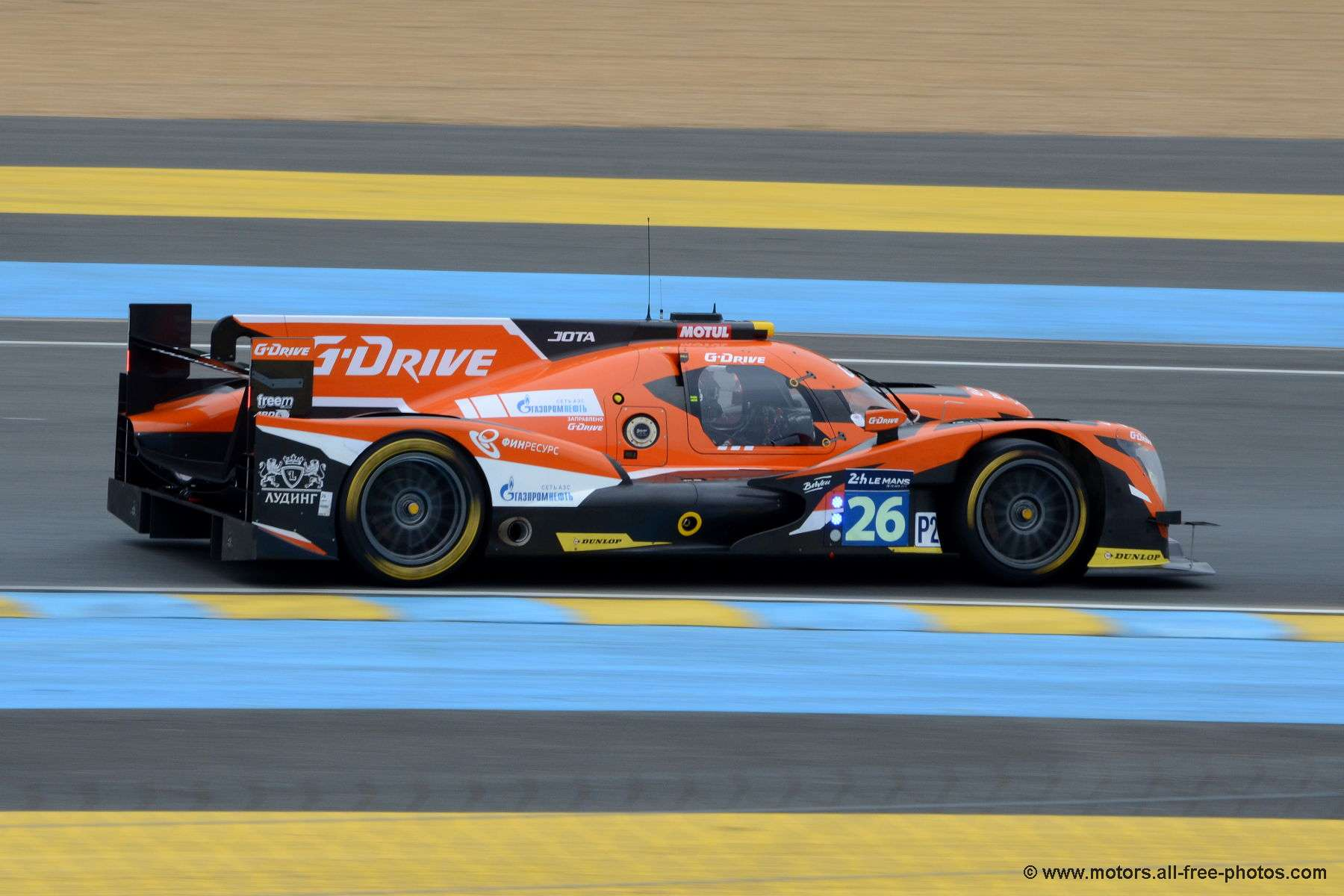Oreca 05-Nissan - Team G-Drive Racing