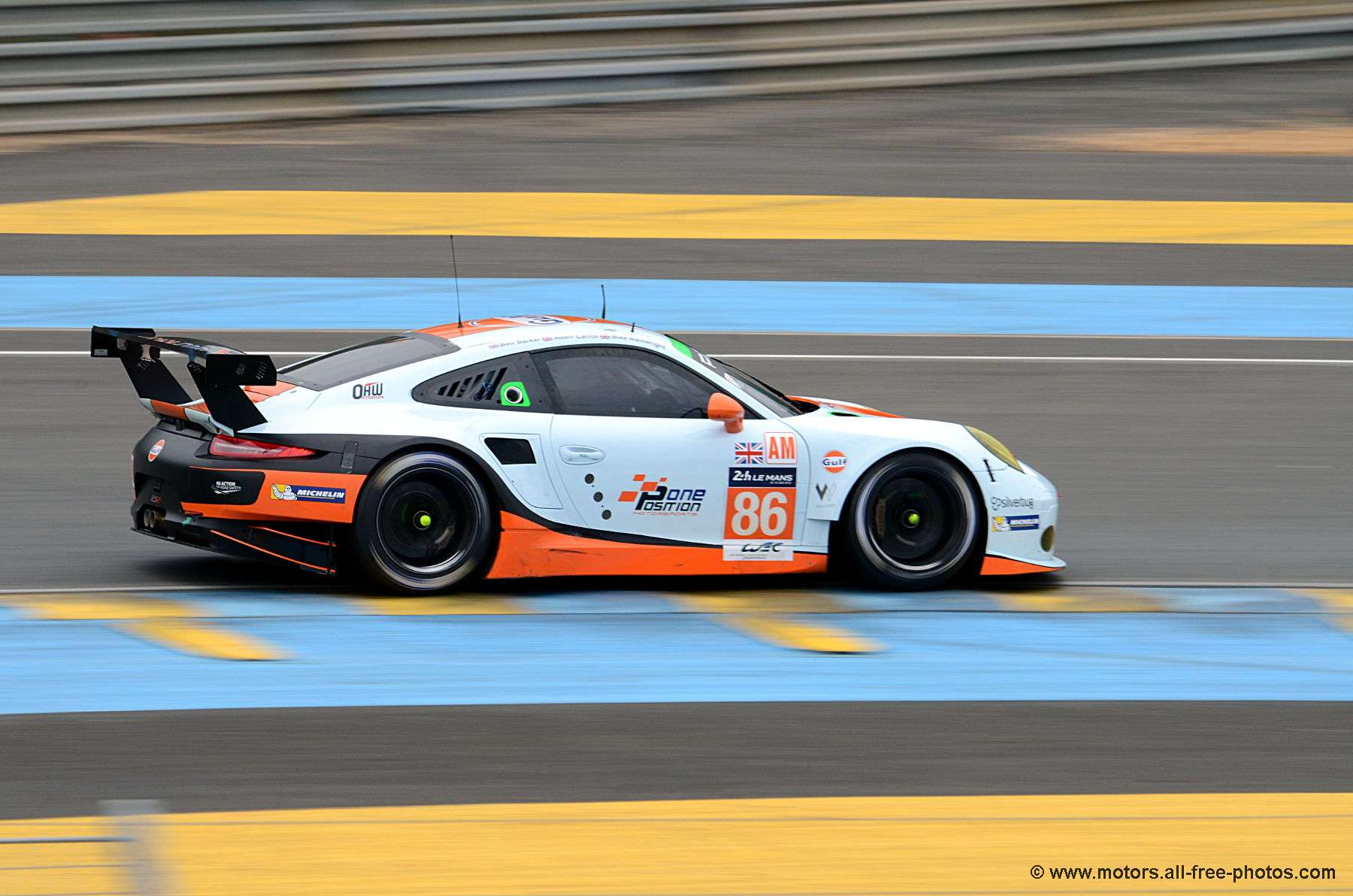 Porsche 911 RSR - Team Gulf Racing UK