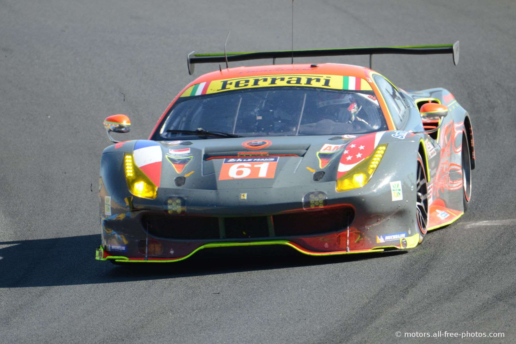 Ferrari 488 GTE - Team Clearwater Racing
