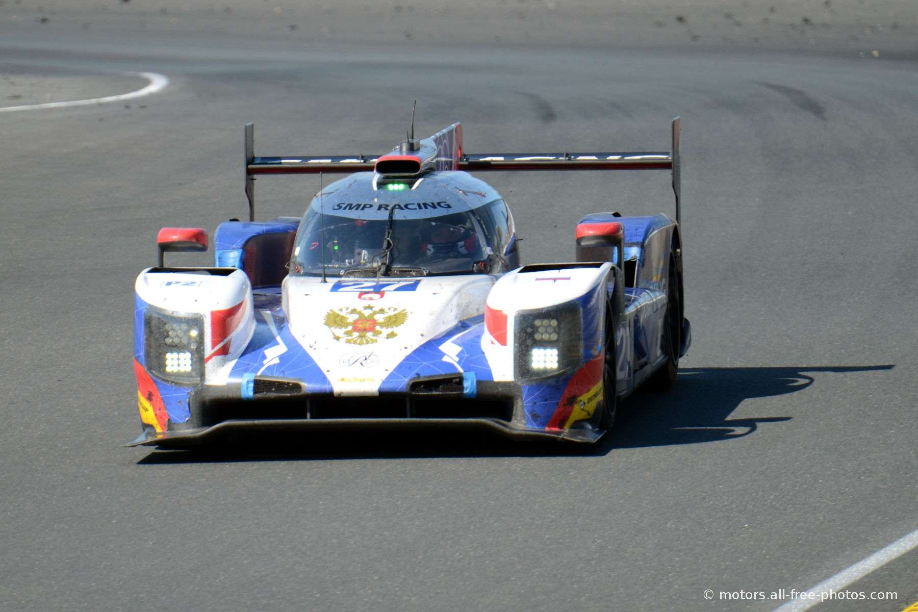 Dallara P217-Gibson - Team SMP Racing