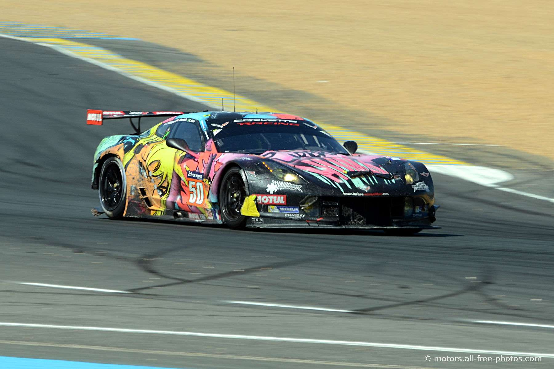 Chevrolet Corvette C7-Z06 - Team Larbre Competition
