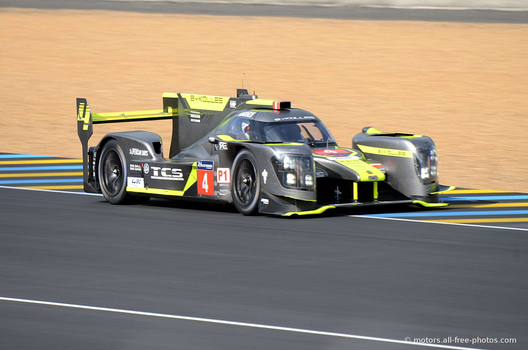 ENSO CLM P1/01-Nismo - Team Bykolles Racing