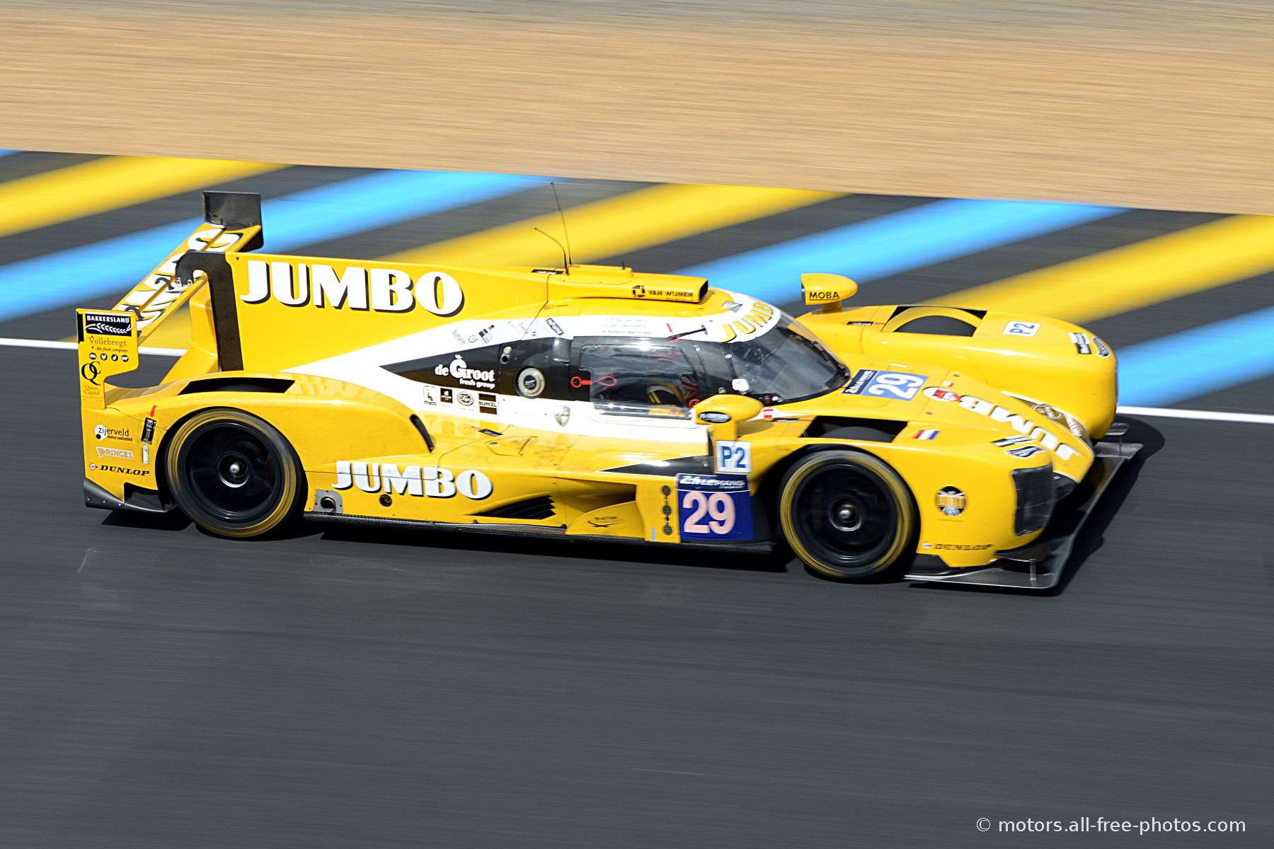 Dallara P217-Gibson - Team Racing Nederland