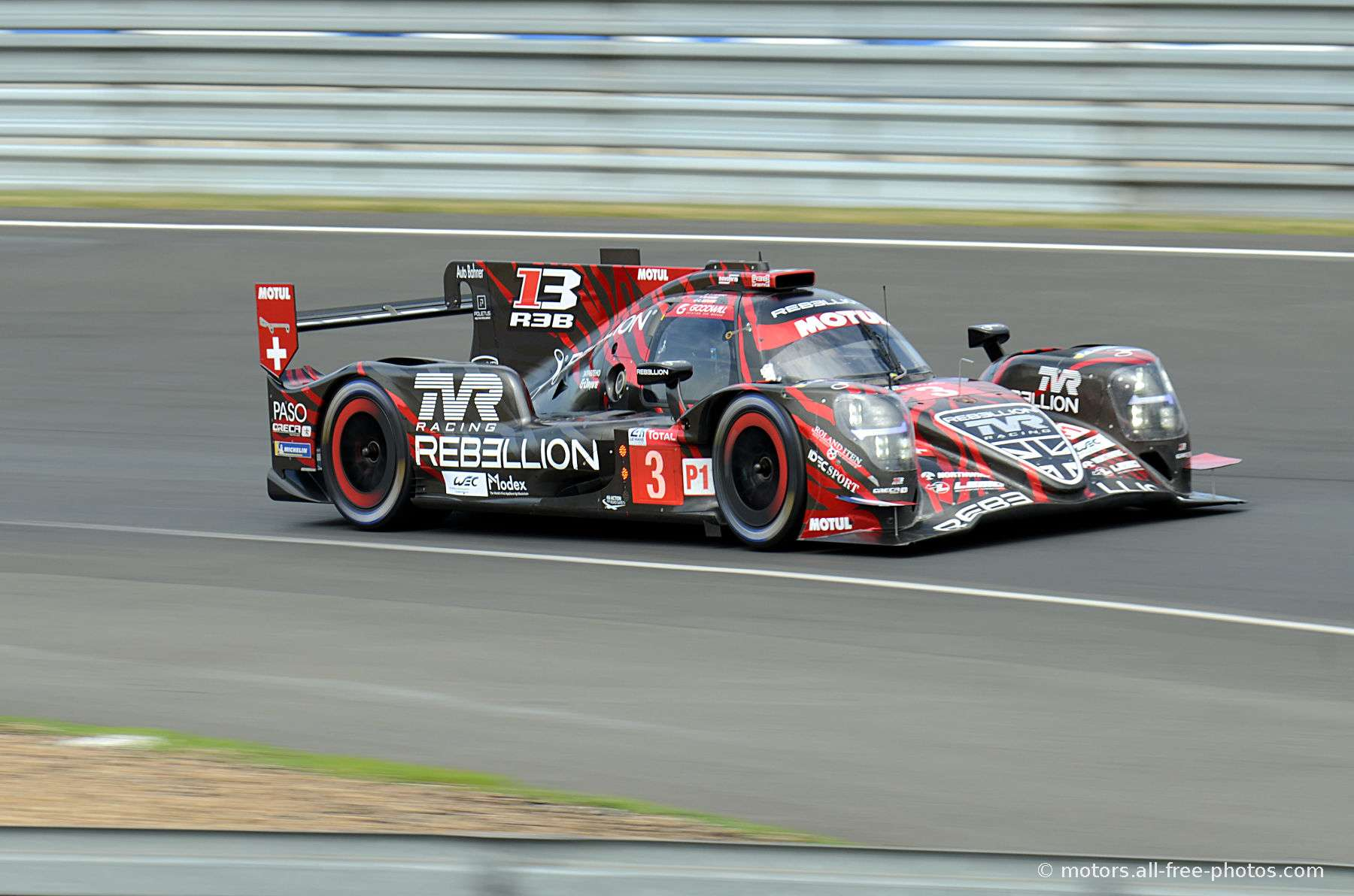 Rebellion R13-Gibson - Team Rebellion Racing