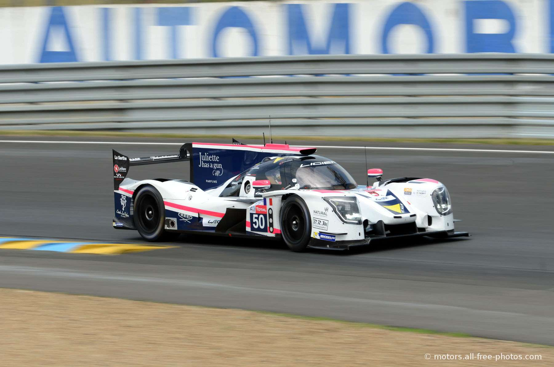 Ligier JSP217-Gibson - Team Larbre Competition