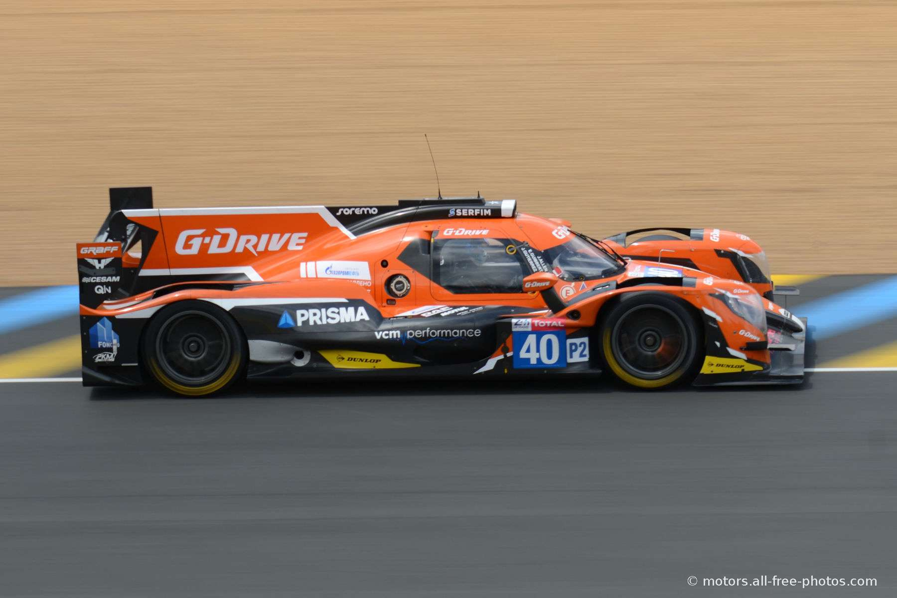 Oreca 07-Gibson - Team G-Drive Racing