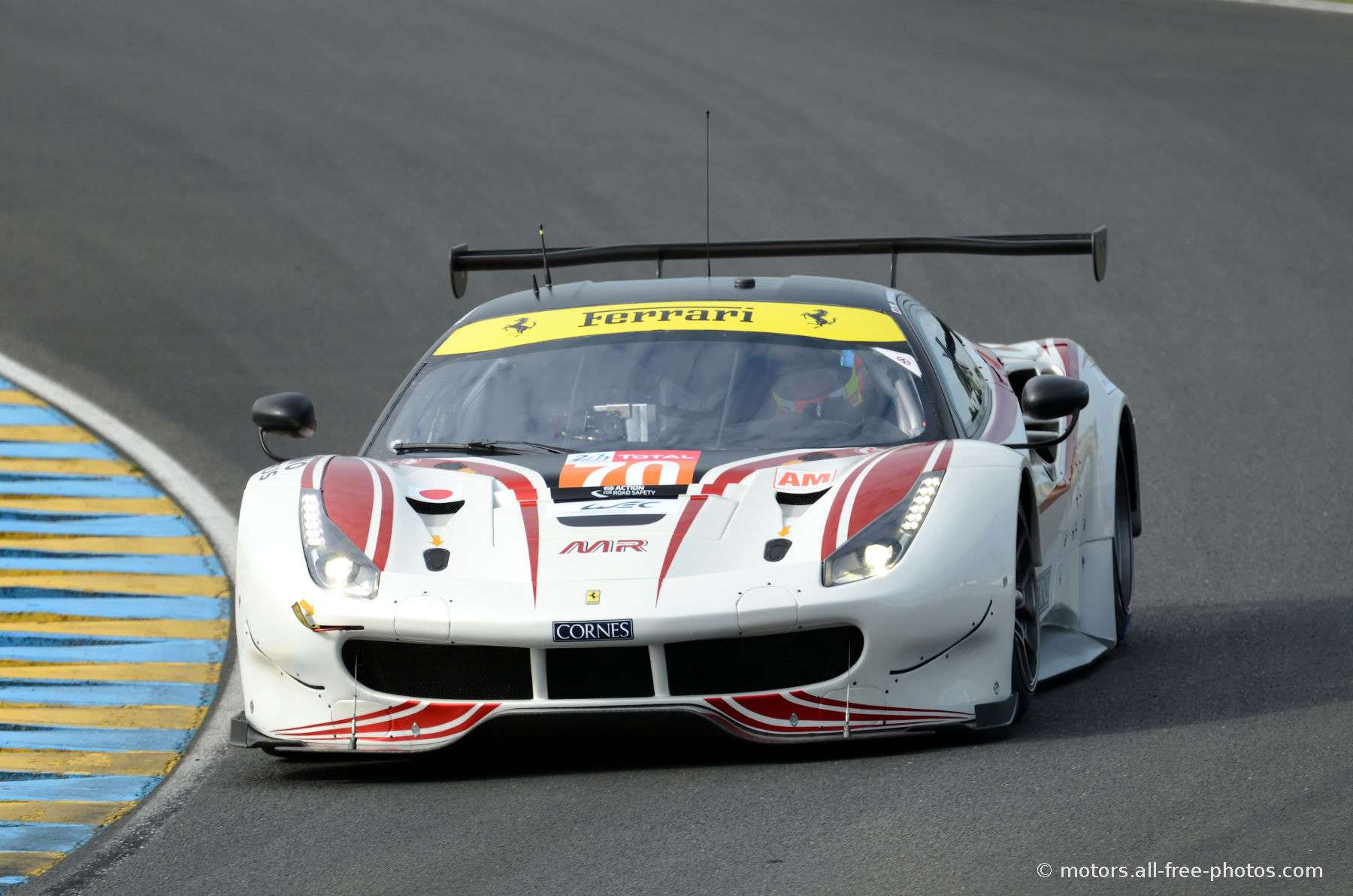 Ferrari 488 GTE - Team MR Racing
