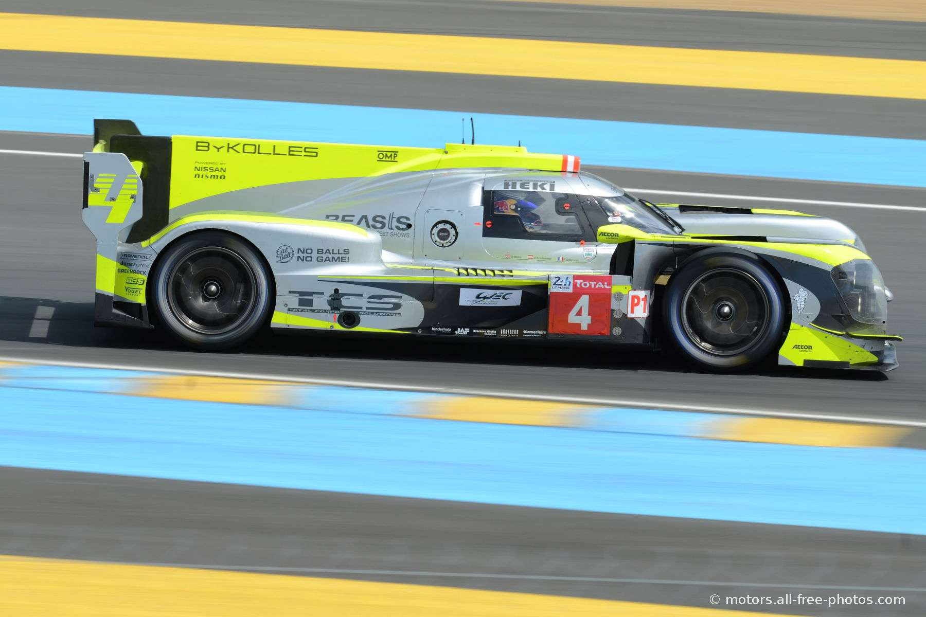 Enso CLM P1/01-Nismo - ByKolles Racing Team