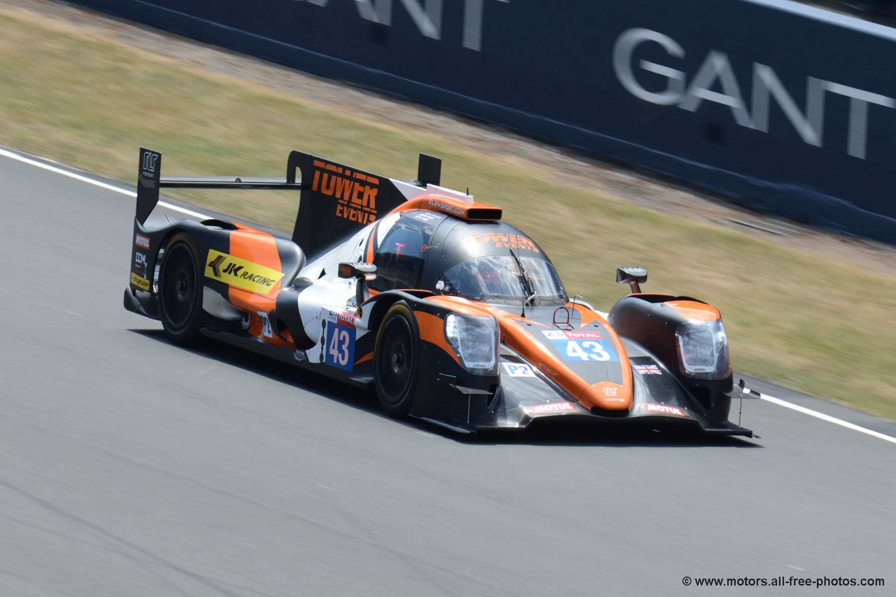 Oreca 07-Gibson - Team RLR M Motorsport-Tower Events