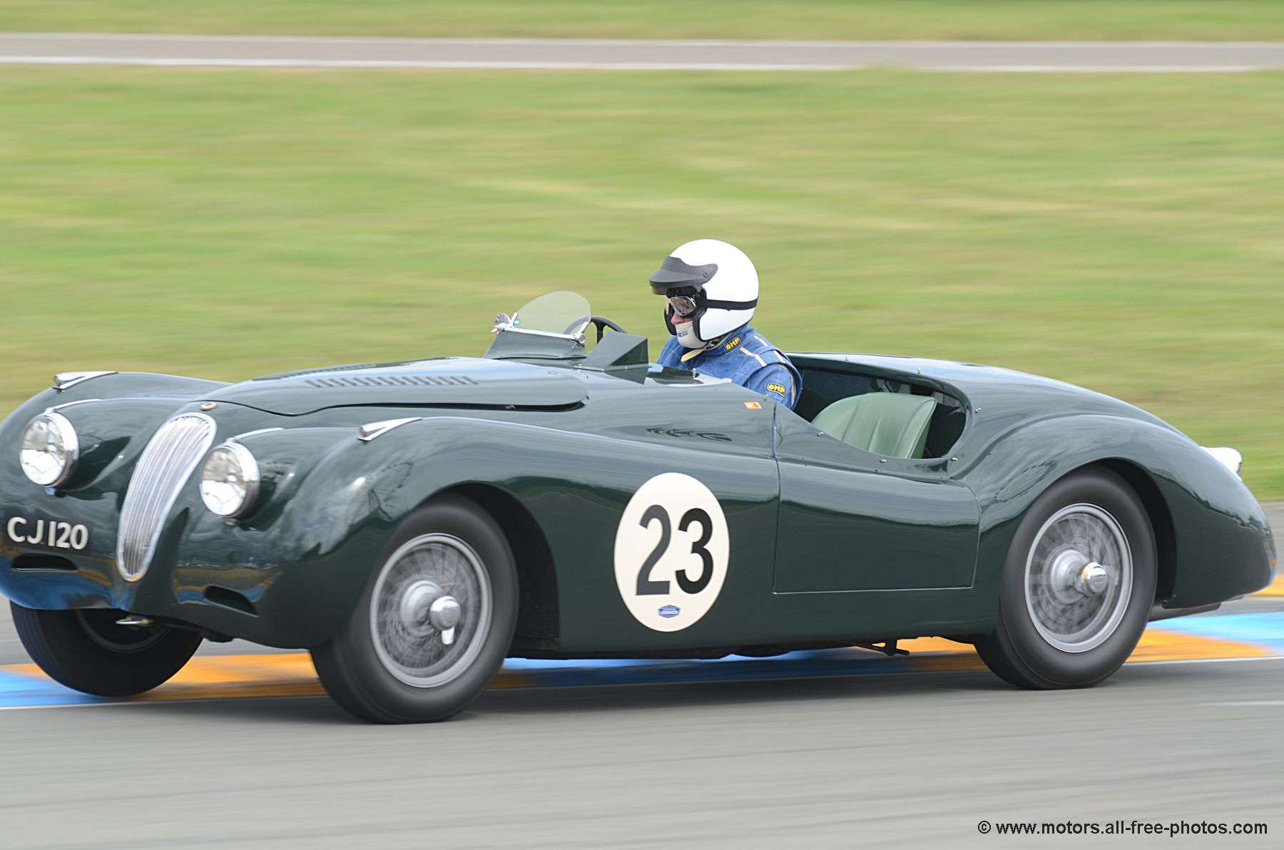 Photo jaguar xk120 lt2 1951