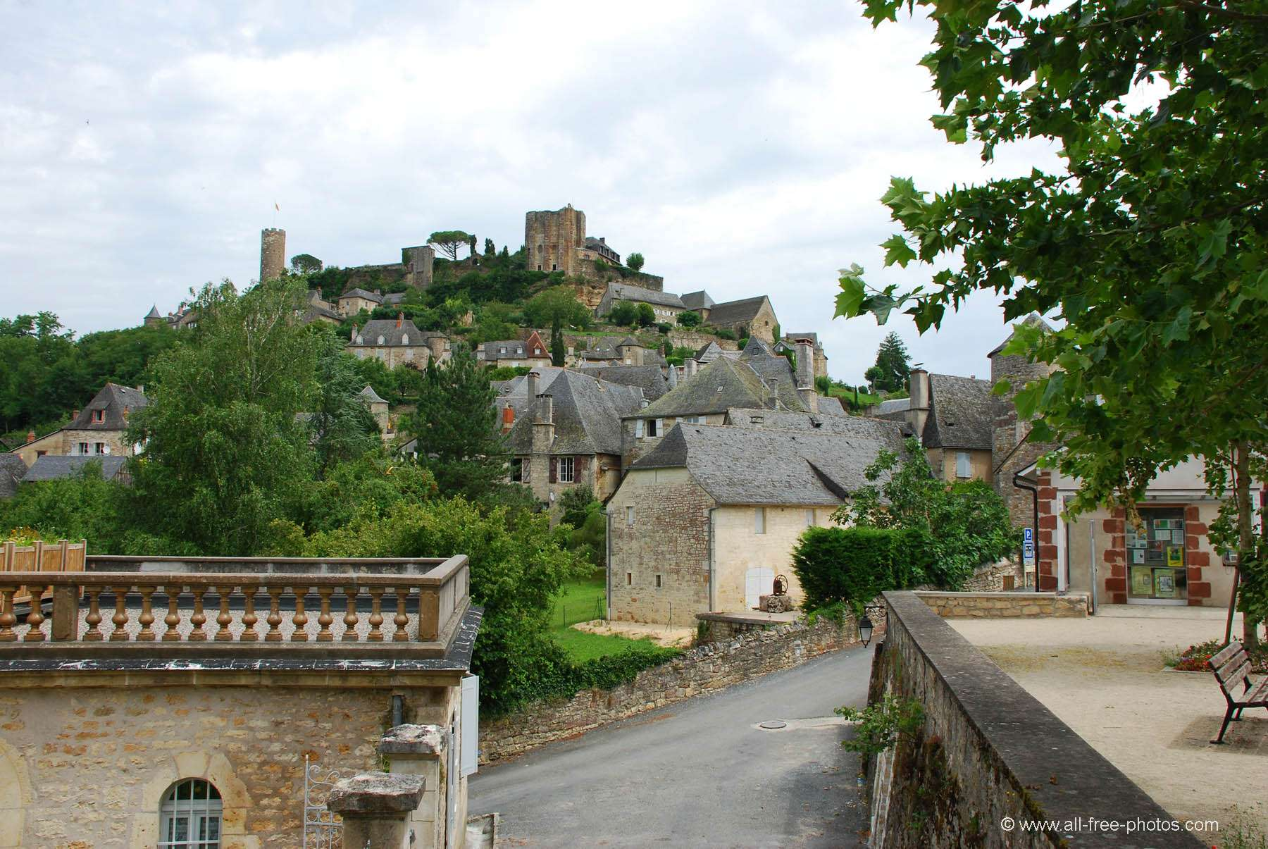 Home Galleries Towns And Villages Limousin Uzerche France