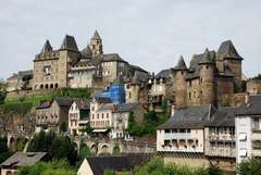 Limousin: Luzerche, Collonges la Rouge, Turenne