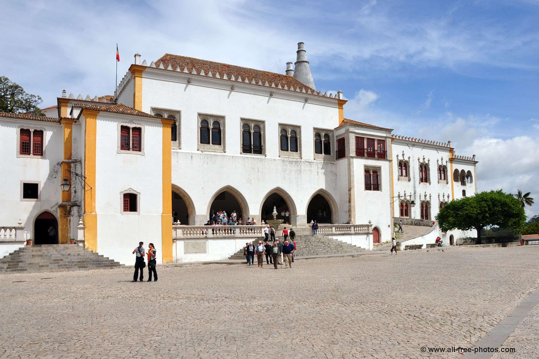 Palais national - Sintra - Portugal