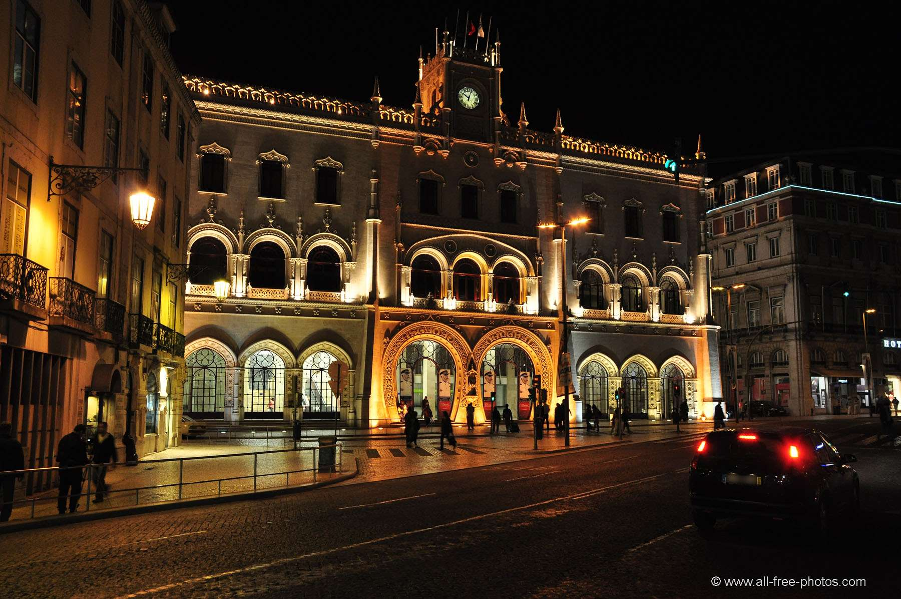 Rossio station - Lisbon - Portugal