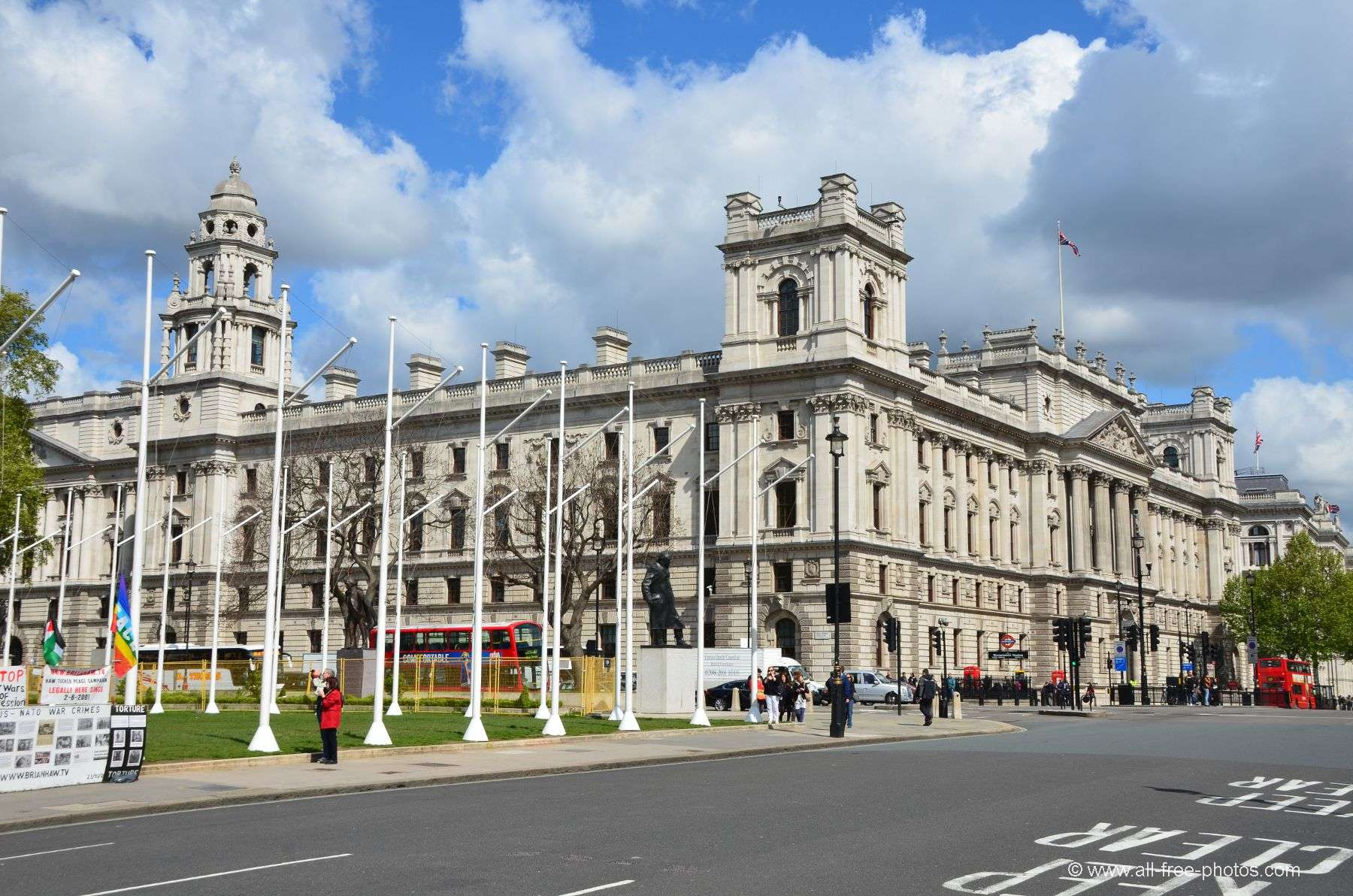 Her Majesty's Treasury Office - London - United Kingdom