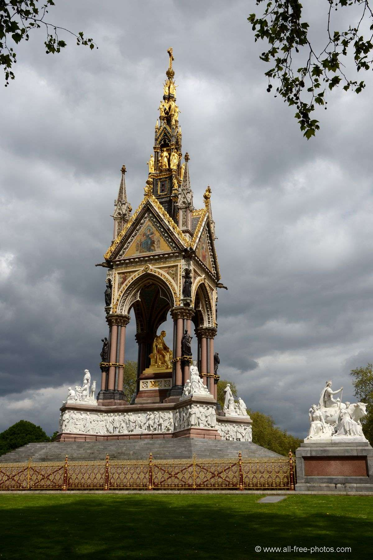 Albert Memorial  - Londres - Royaume Uni