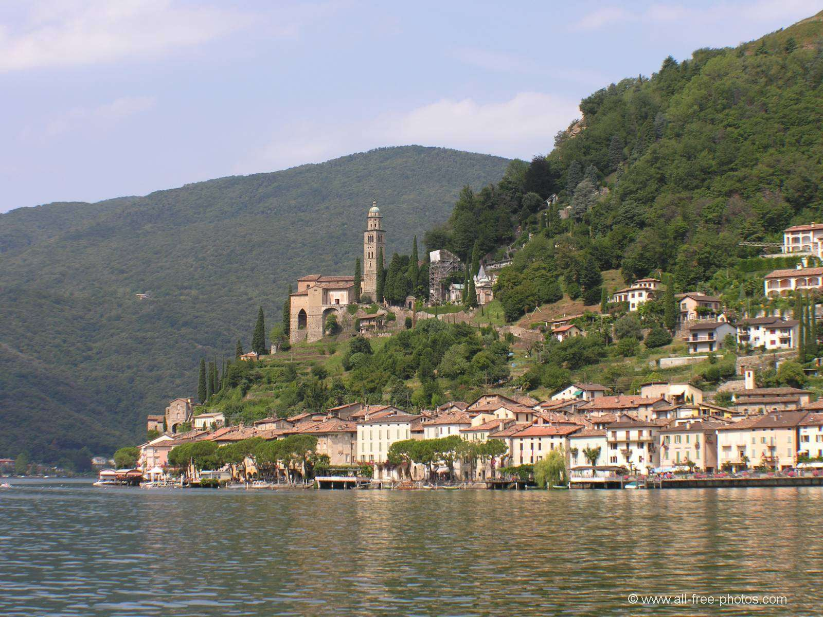 Morcote - Lugano Lake - Switzerland