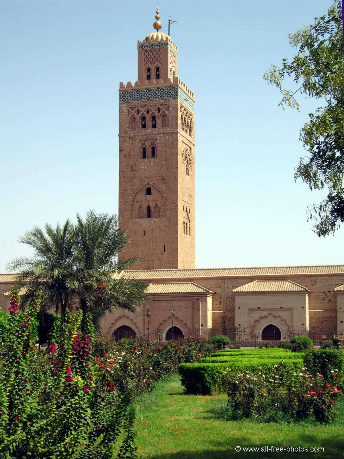 Photo: Minaret of Koutoubia - Marrakech - Morocco