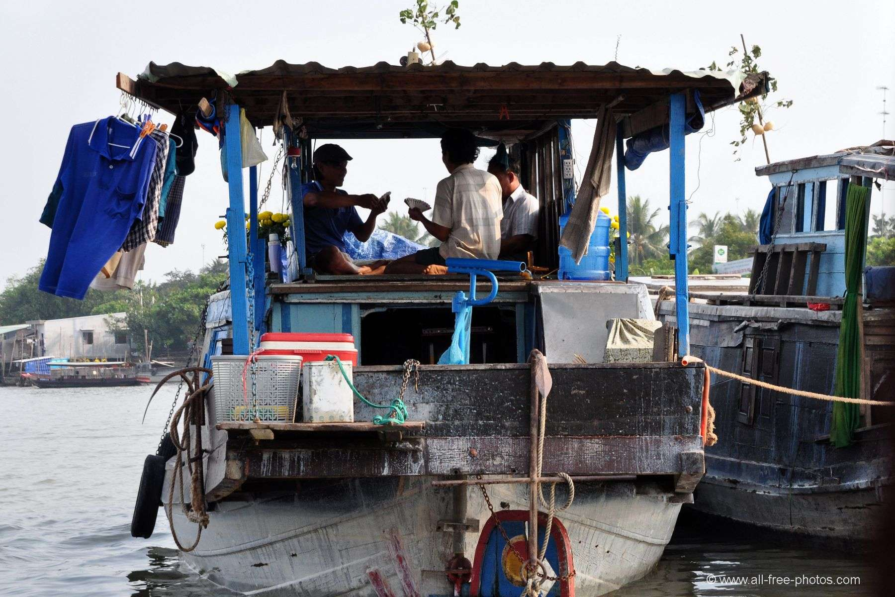 Daily life on the Mekong - Cai Be - Vietnam