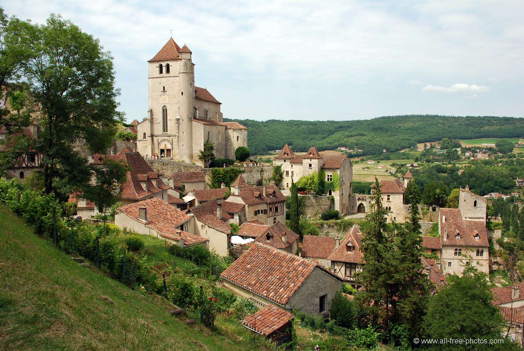 Saint Cirq Lapopie - France