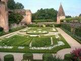 Garden of the Ste Cécile cathedral - Albi - France