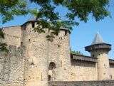 Le ch�teau ducal - Carcassonne - France