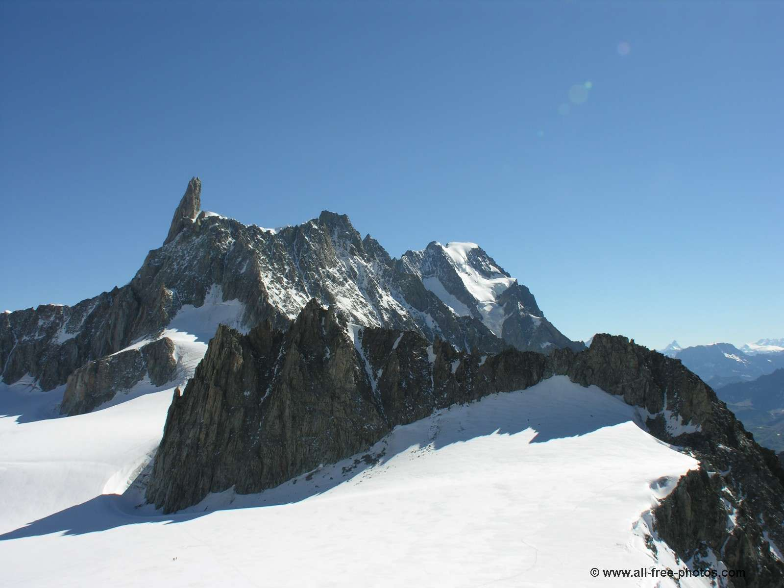 The Tooth of the Giant - Chamonix - France