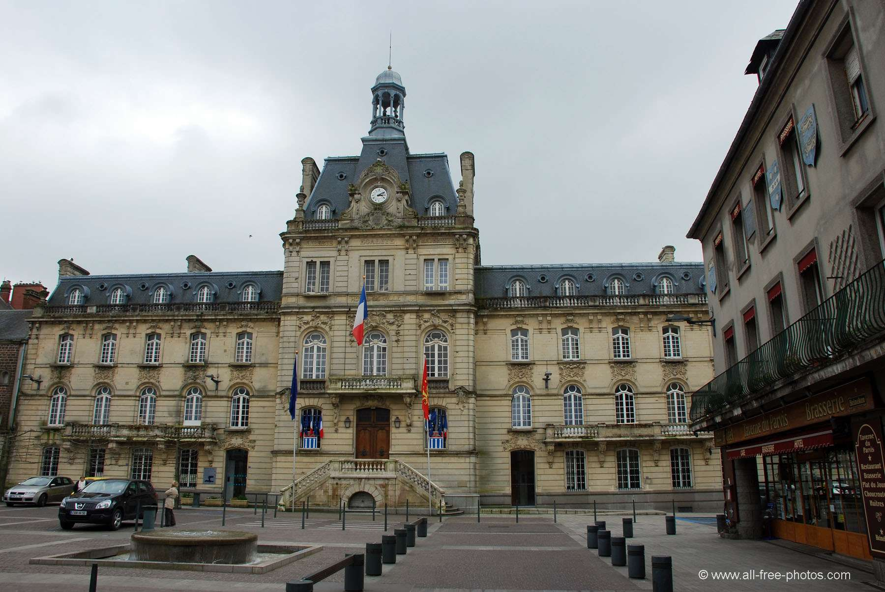 City hall - Coutances - France