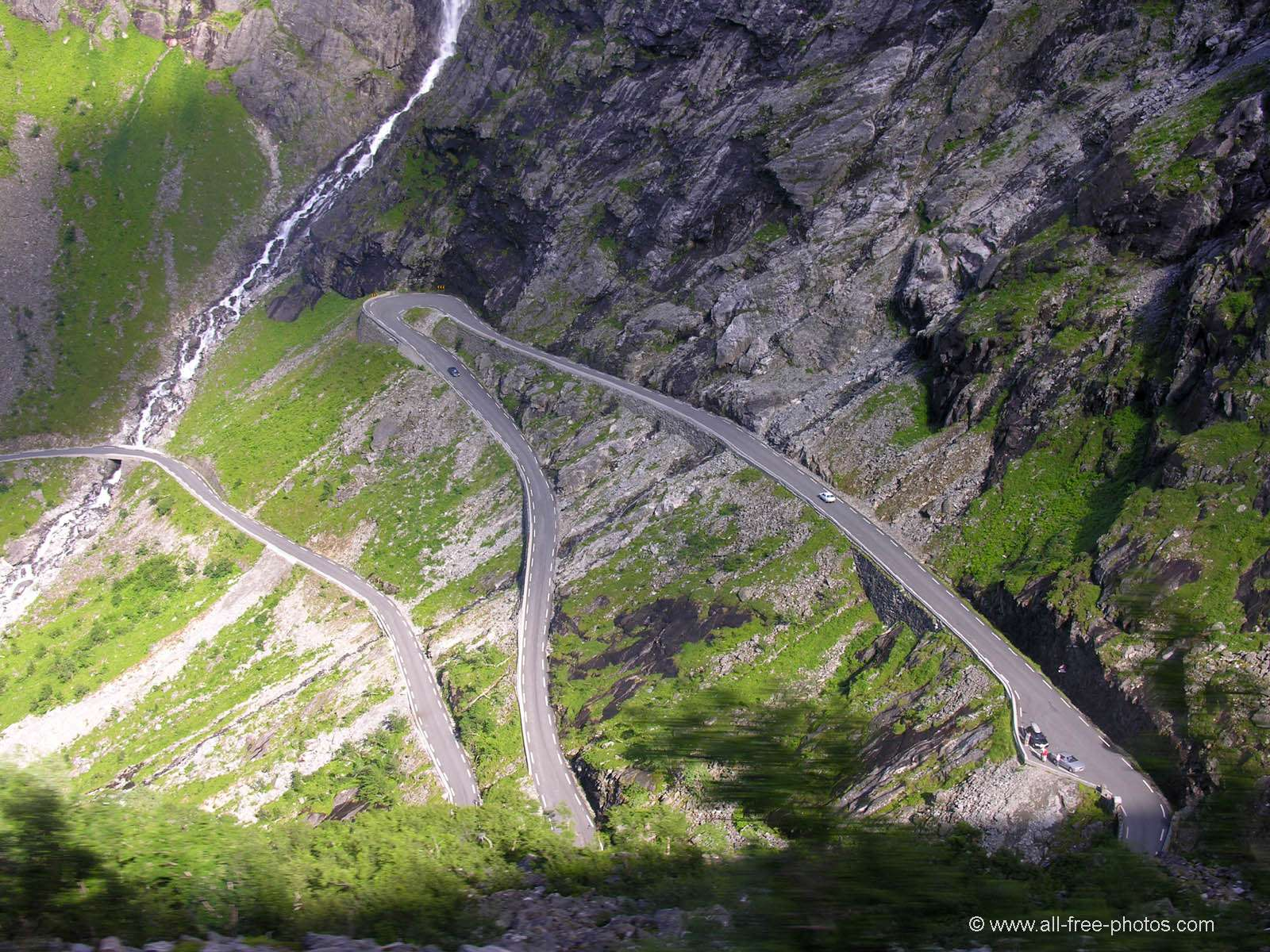 Trollstigen - the troll's road - Norway