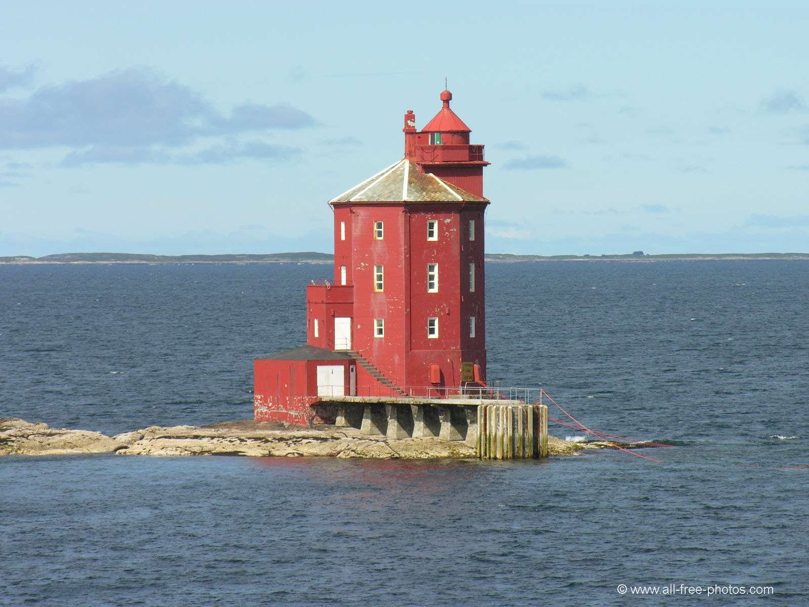 Lighthouse of Kjeungskjaer - Norway
