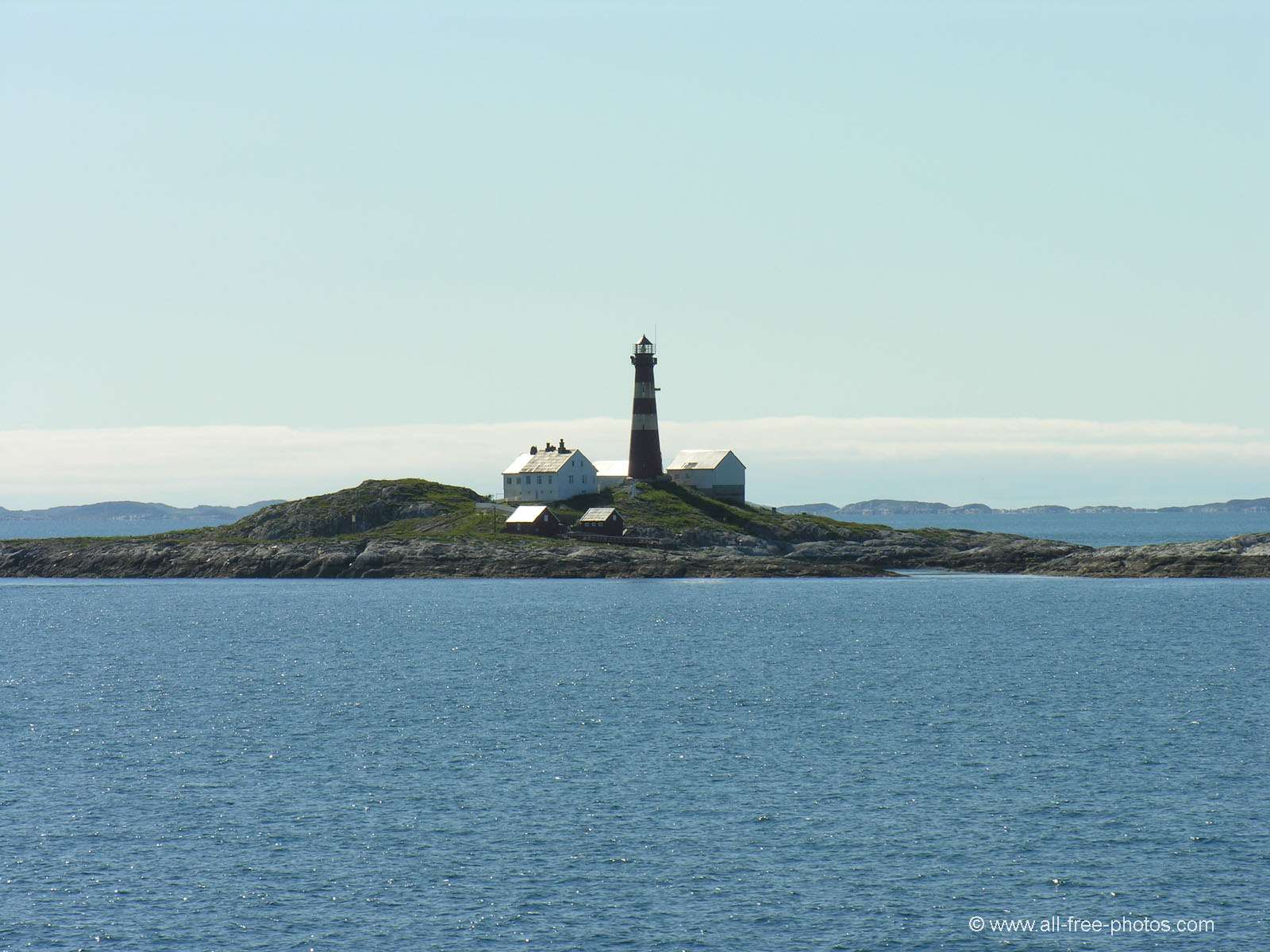 Lighthouse of Landegode - Norway