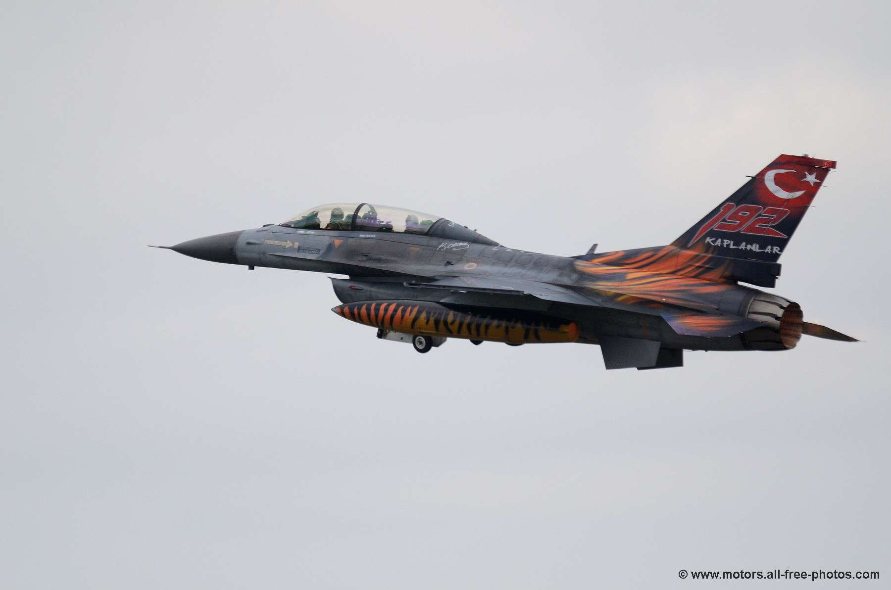 Home Galleries Aeronautics Nato Tiger Meet 2011 TUSAS F 16D Fighting