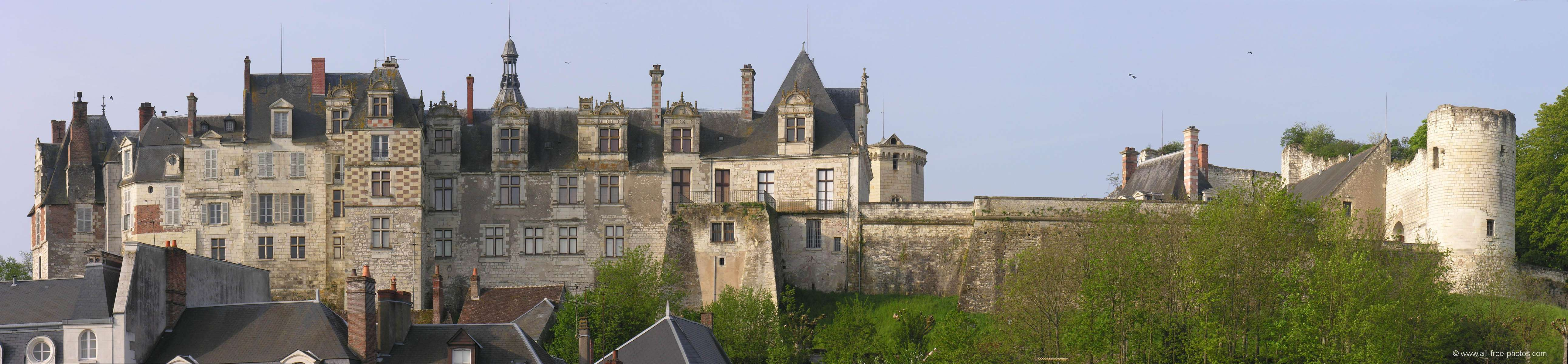Castle of Saint Aignan sur Cher- France