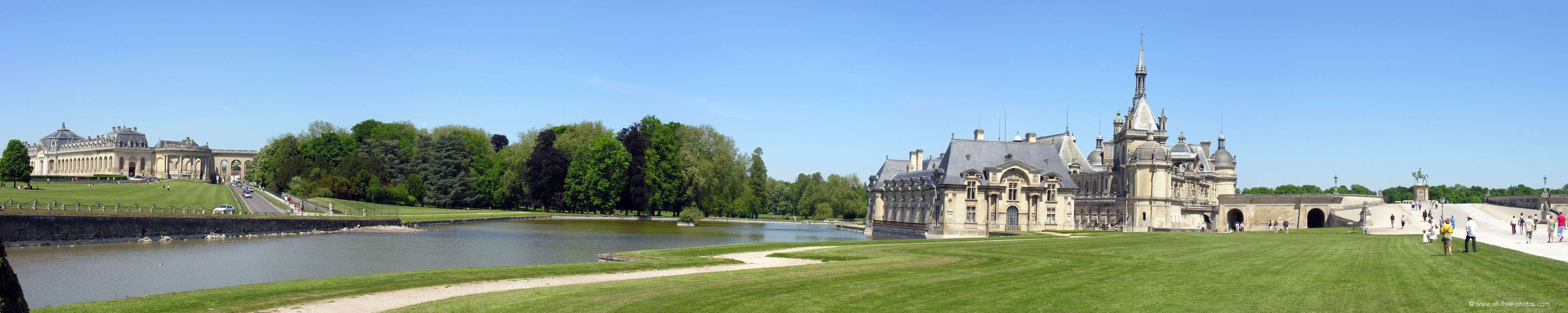 Photo Castle Of Chantilly France
