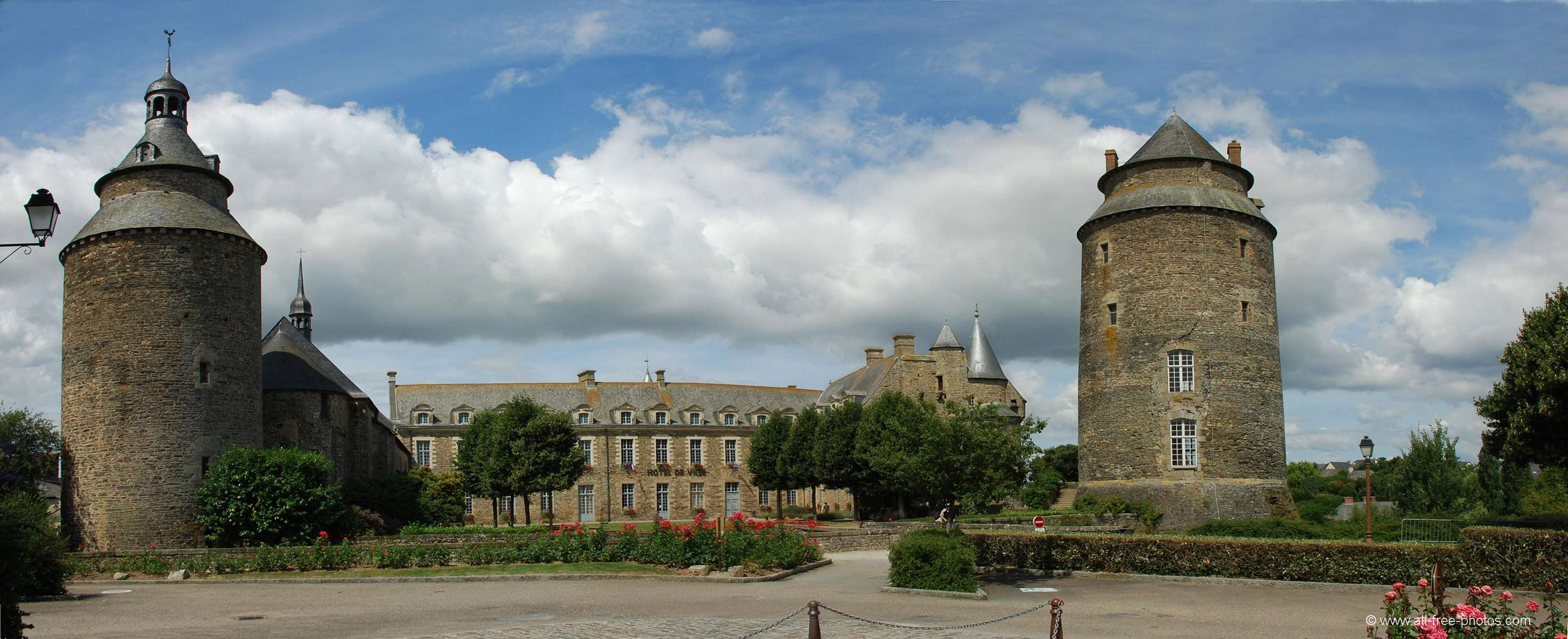 Castle of Chateaugiron - France