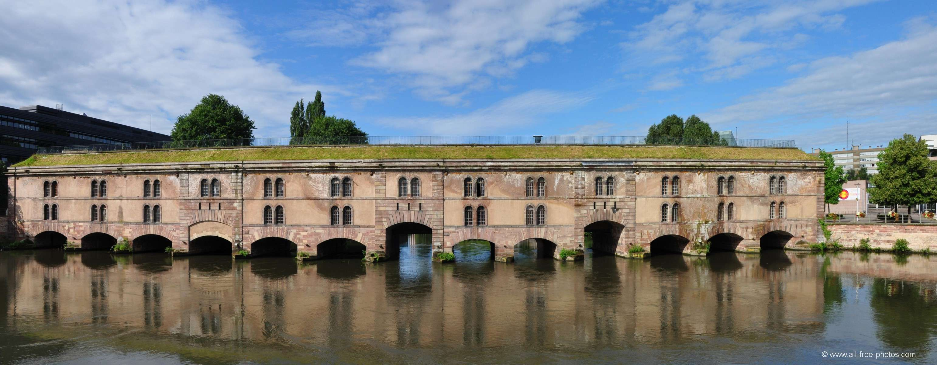 The Vauban's dam - Strasbourg - France