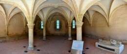 Chapter house - L'Épau Abbey - France