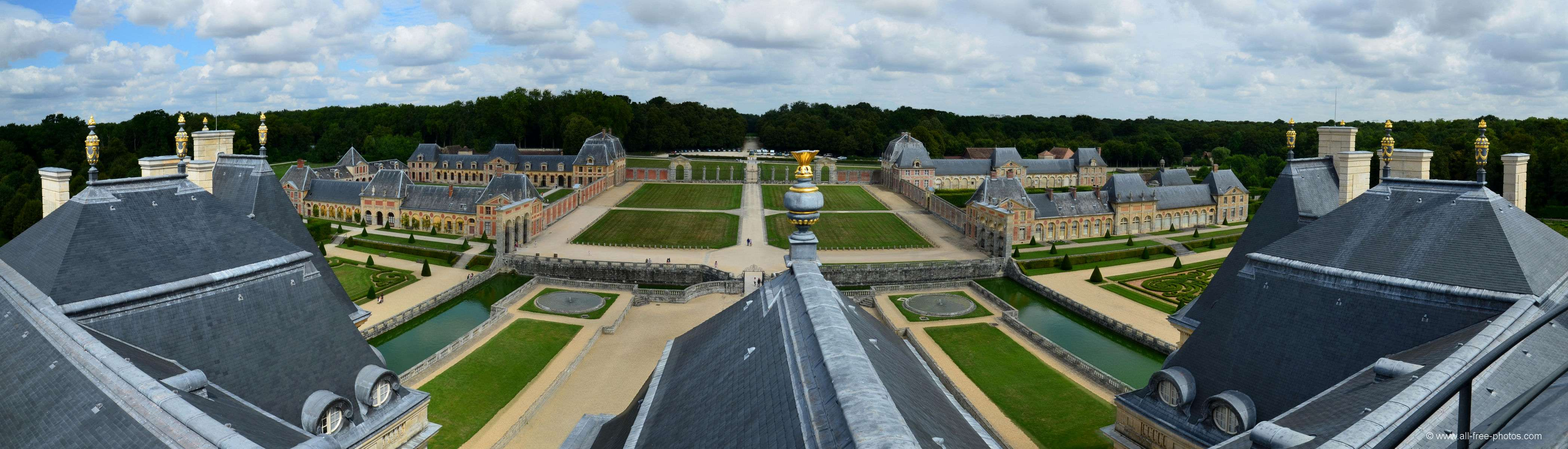 Chateau of Vaux-le-Vicomte - France