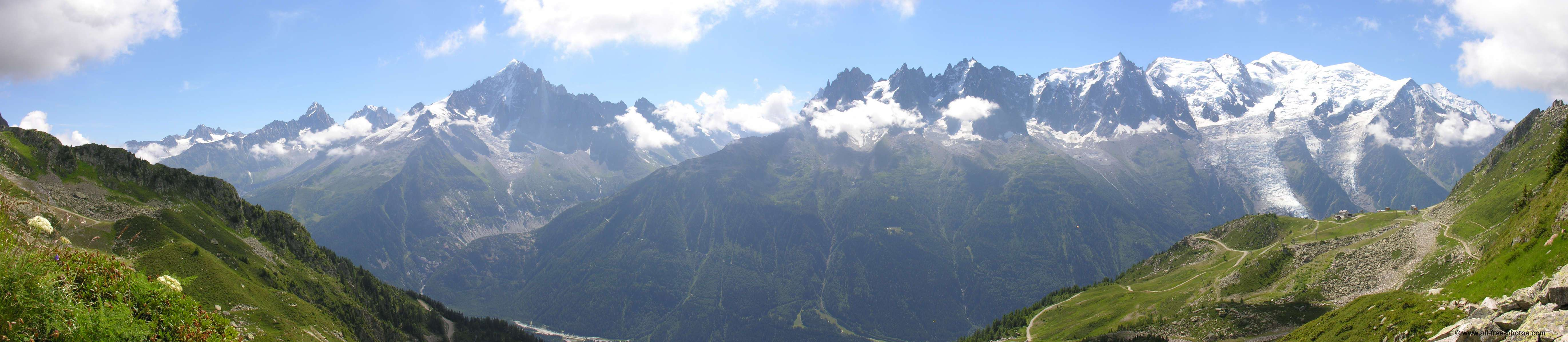 Massif du Mont Blanc - France