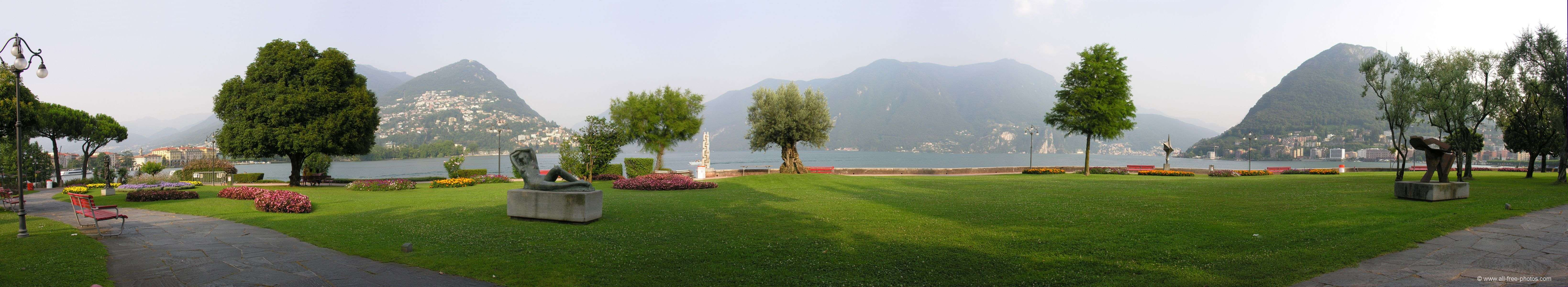 Lugano lake - Switzerland