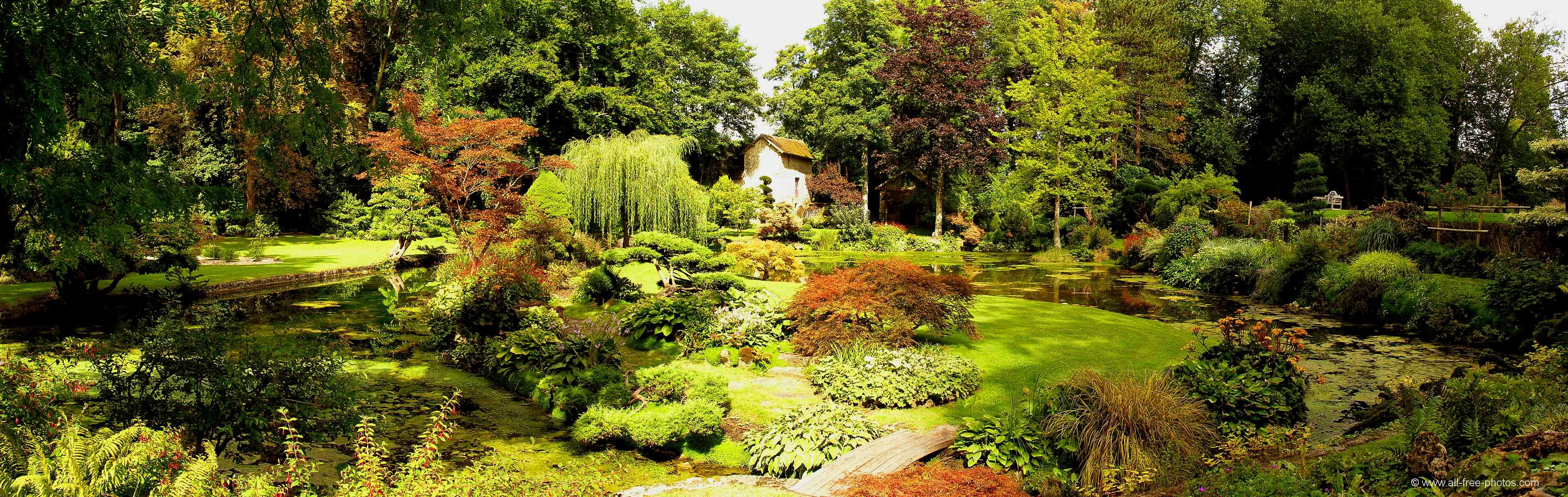 Japaneese garden - Castle of Courances - France