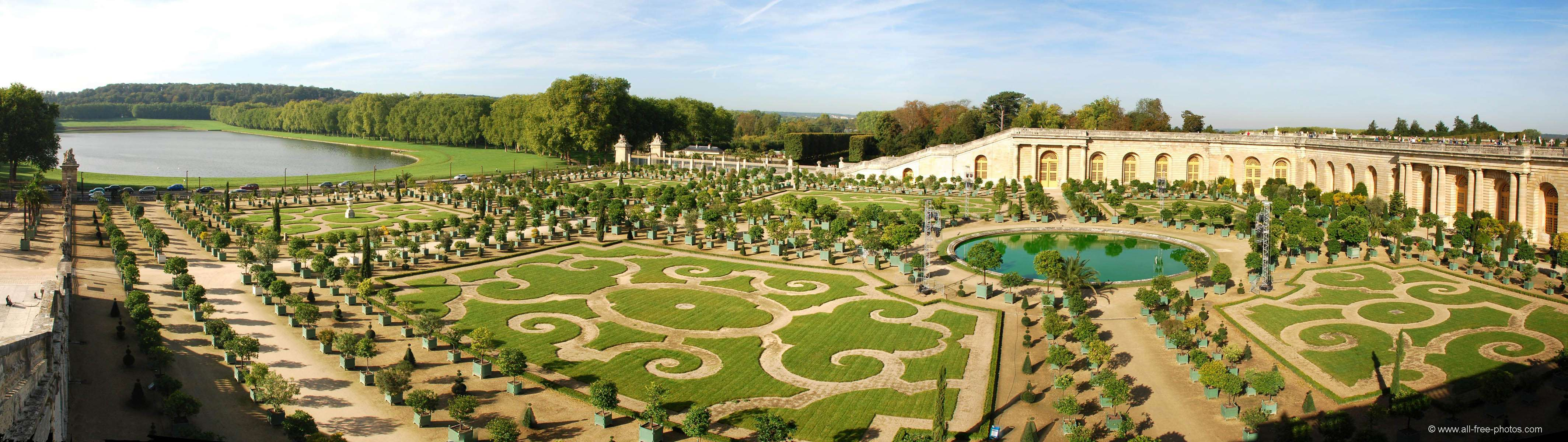 The orangery - Castle of Versailles - France