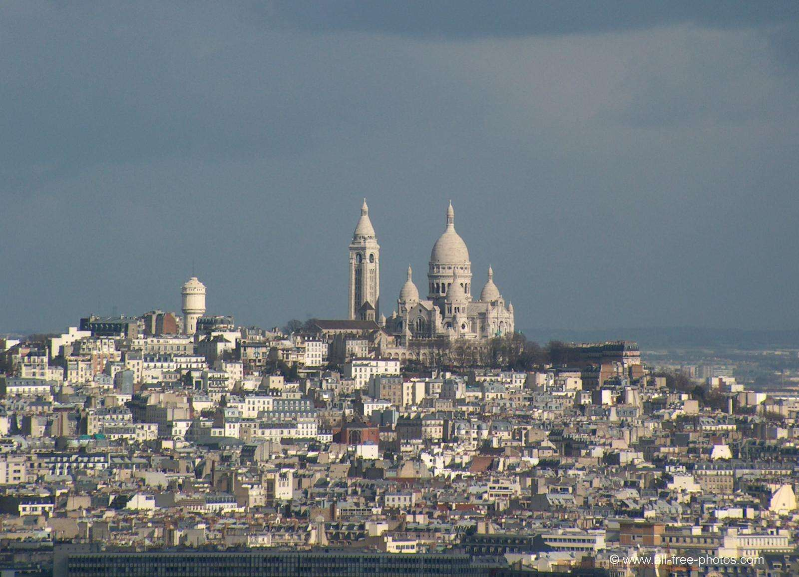The Sacré Coeur basilica - Paris - France