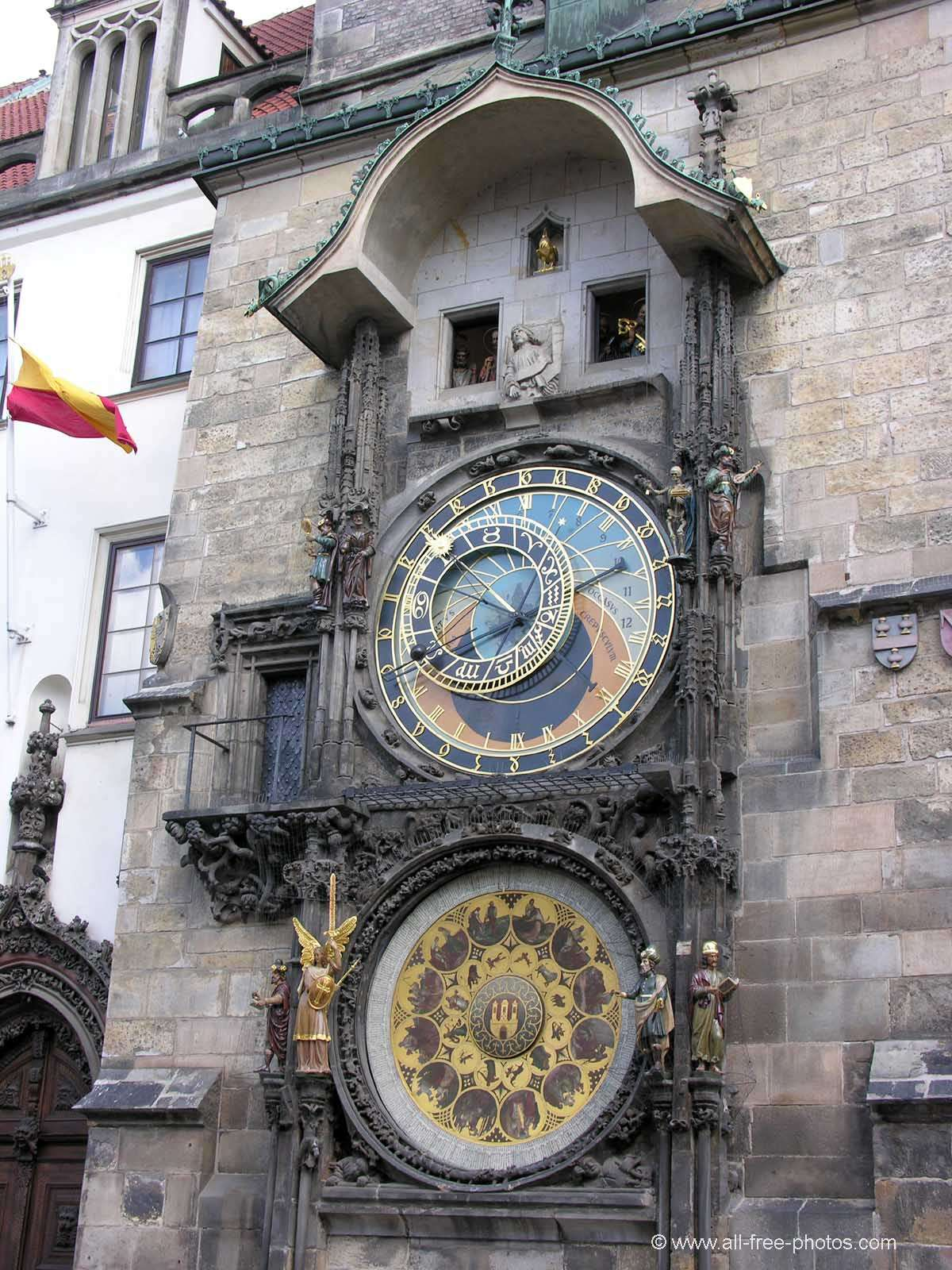Astronomical clock - Prague - Czech Republic