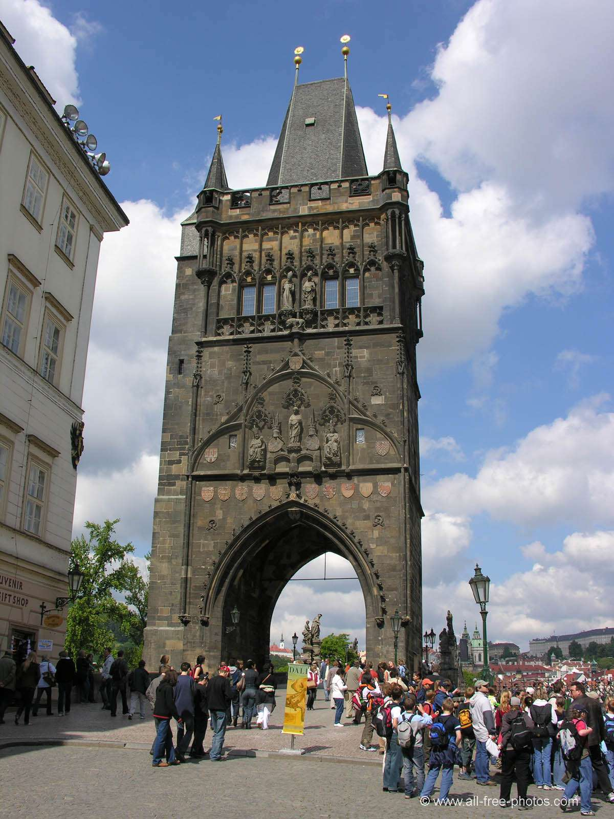 Charles bridge tower - Prague - Czech Republic