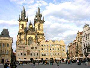 Notre Dame de Tyn - Prague - Czech Republic
