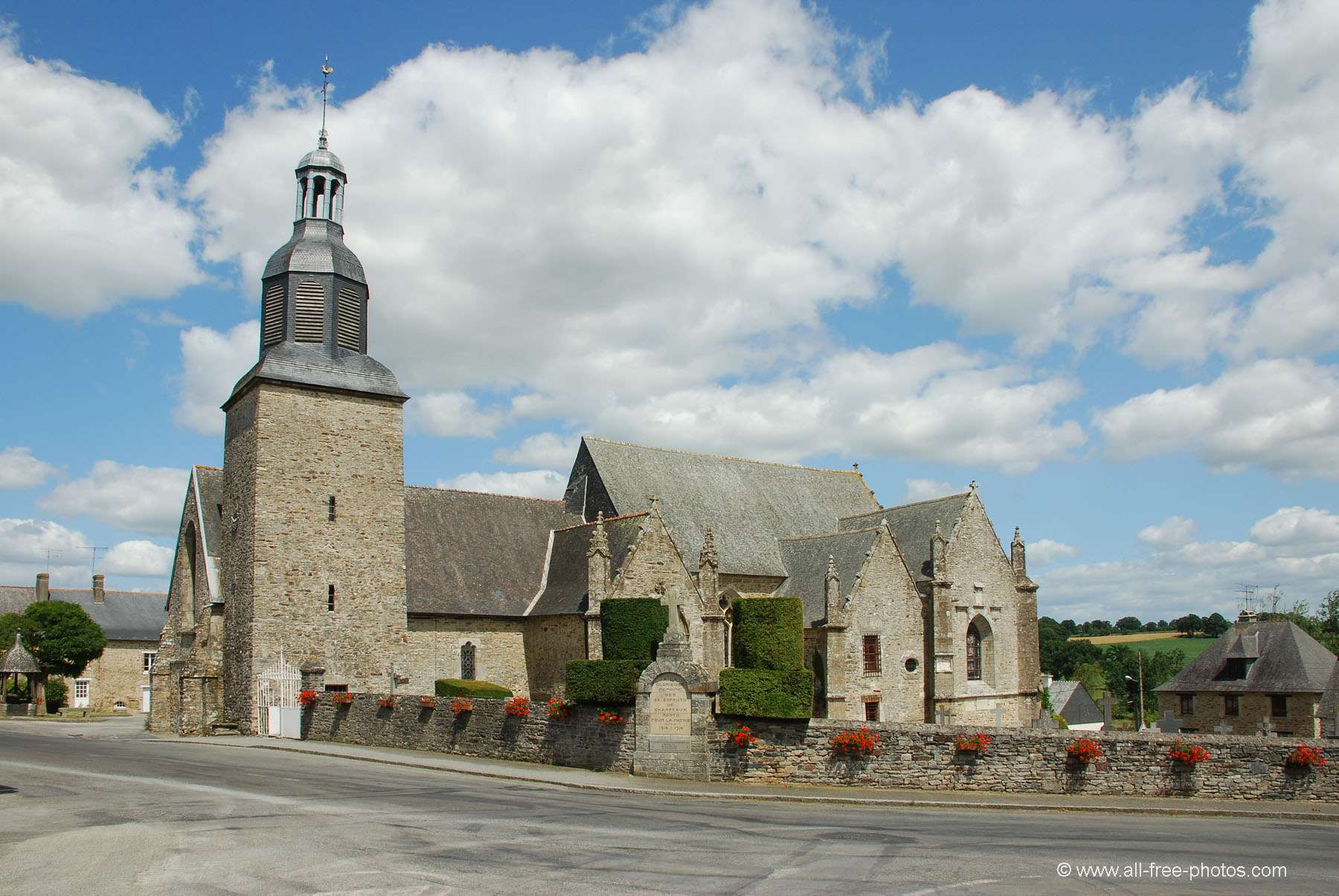Church of Champeaux - France