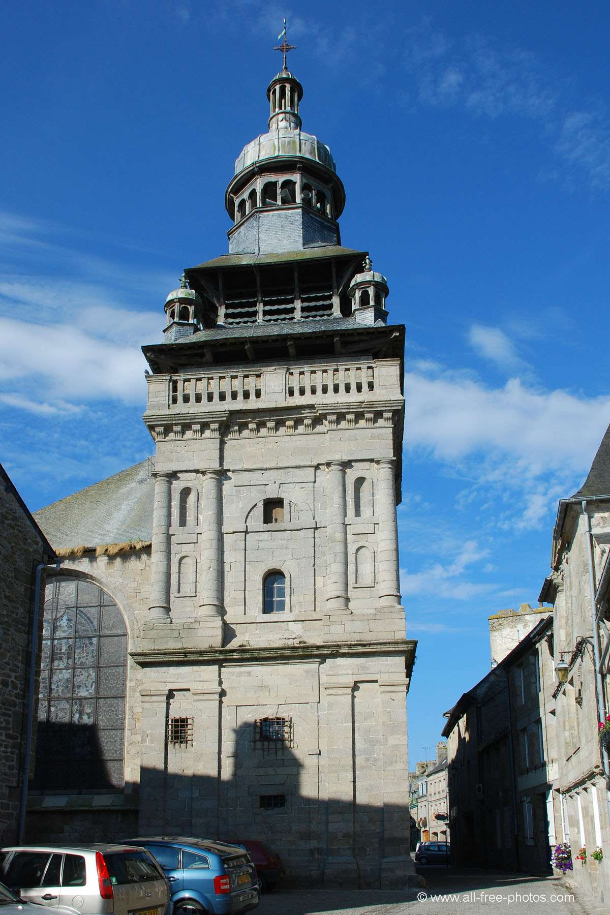 Eglise Saint Mathurin - Moncontour - France